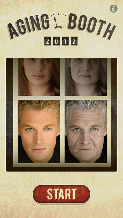 Aging Booth App - what you'll look like in the future